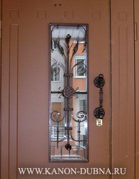 стальный входный дверь